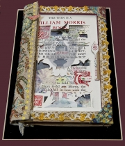 Bill  &  Roy Altered Book (based On William Morris Essays)