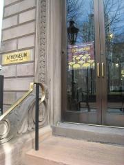 Athenaeum - Philadelphia Entrance.